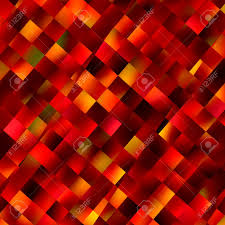 orange background decoration with square pattern color image