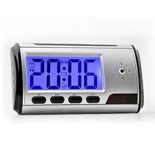 spycam bedroom 32gb spycam alarm clock spy hidden mini camera voice recorder