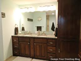 Bathroom Cabinet With Lights Bathroom Lowes Double Vanity Lowes Bathroom Vanity Lights