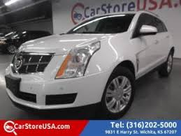cadillac srx pearl white used cadillac srx for sale in wichita ks cars com