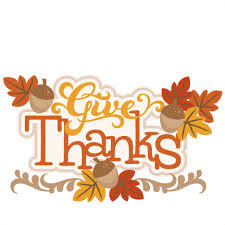 give thanks clip happy thanksgiving