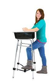 standing desks for students amazon com standing desk conversion kit for student desk leg