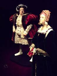 Tudor King Henry Viii Looks Scornfully At His First Wife Catherine Of U2026 Flickr