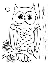 Owl Coloring Pages Download And Print Owl Coloring Pages Owl Color Pages