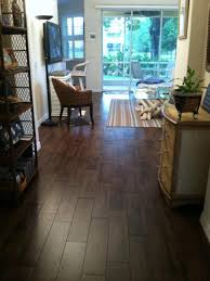 Porcelain Wood Tile Flooring Dark Tile Floors Best 25 Dark Tile Floors Ideas On Pinterest