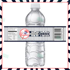 sports invites new york yankees bottle labels