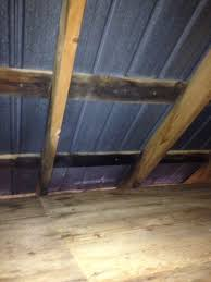 Radiant Barrier Osb Roof Sheathing by Metal Roof On Purlins V S Decking Installation Metal Roofing