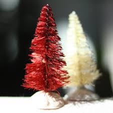 dyeing bottle brush trees really works u2022 craft thyme