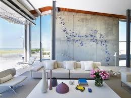 Interior Designers Long Island Beach House On Long Island Contemporary Living Room New York