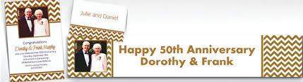 custom 50th anniversary invitations anniversary invitations
