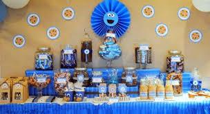 karo u0027s fun land cookie monster birthday party