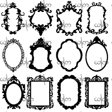 Victorian Design Photoshop Clipart Victorian Pattern Pencil And In Color