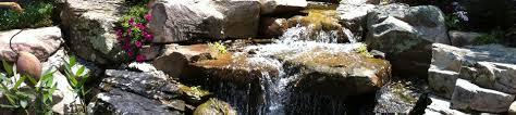 nature u0027s re creations backyard waterfall in st louis