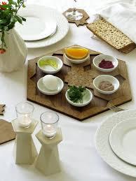 modern seder plate passover gift seder plate set of 6 pomegranate shape