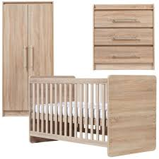 Nursery Furniture by Ascot Nursery Furniture Set In Oak Babies R Us