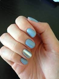 light blue gray nails this week blue gray u0026 silver nails for nickels