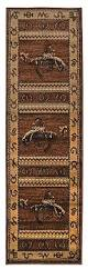 Cowboy Area Rugs Amazon Com Rugs 4 Less Collection Cowboy Horse Western Cabin