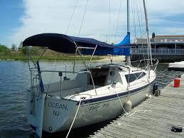 Sailboat Awning Sunshade Custom Canvas For Sailboats