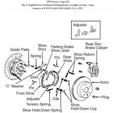 1996 toyota camry brakes 1998 toyota camry rear brake rotor removal brakes problem 1998