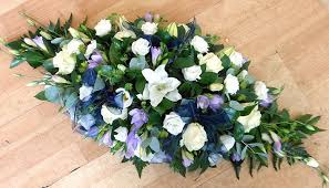 funeral spray white lilac funeral spray chelmsford flowers blossom florists