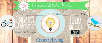 country living kits 2018 cross stitch subscription easy 123