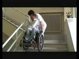 sedie per disabili per scendere scale le scale e la sedia a rotelle