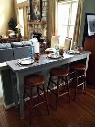 Narrow Bistro Table Bar Stool Rustic Pub Table Narrow Table With Bar Stools Pub