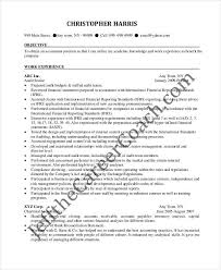 Accounting Resume Experience 24 Accountant Resume Templates In Pdf Free U0026 Premium Templates