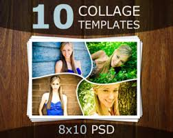 photo collage templates photoshop collage templates