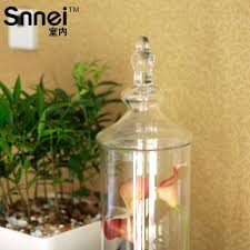 Clear Glass Vases With Lids Flower Vases Cheap Picture More Detailed Picture About Snnei