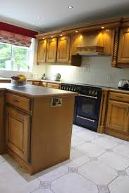 used kitchen islands large oak used kitchen island rangemaster oven trafford park
