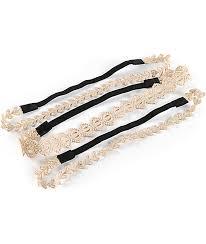 lace headbands gold lace headbands