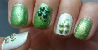 3d lucky clover nail design tutorial for st patrick u0027s day
