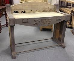 Industrial Work Table by Rupert Industrial Architect Work Table Desk With Attached Seating