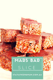 mars bar slice stay at home mum