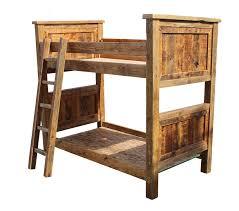 Rustic Bunk Bed Barn Wood Bunk Bed Rustic Breck Bears