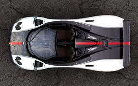 vehicle top view pagani zonda cinque most expensive supercars pictures