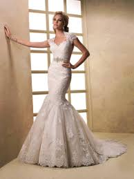 wedding dress in uk applique lace cap sleeves mermaid wedding dress for brides on sale