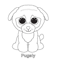 beanie boo coloring pages the sun flower pages