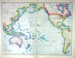 World Map Prints by Old Print Antique And Victorian Art Prints Paintings World Maps