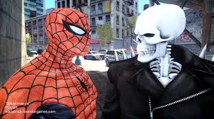spiderman vs ghost rider spider man youtube