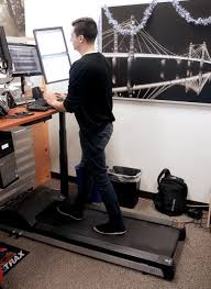 Walking Treadmill Desk How To Configure A Treadmill Desk W Limited Space Human Solution