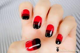 red nails day 9 28 days of sonailicious nails