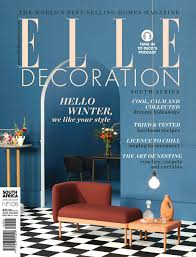 Home Decor Magazines In South Africa Isosceles By Danie Bester Featured In Elle Decoration Magazine