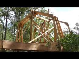 Hip Roof Trusses Prices Raising Homemade Gambrel Barn Trusses By Yourself No Crane Rental