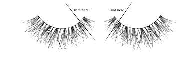 how to apply false eyelashes tutorial authentic portrait