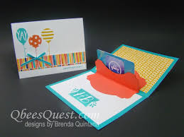 gift card holder qbee s quest deco labels gift card holder tutorial