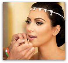 regardless of what you think about kim k her make up here is flawless