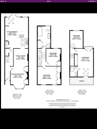 second floor extension plans victorian terrace with loft and and back extension floor plan