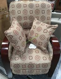 costco deal synergy home furnishings monica recliner synergy fabric wood arm recliner costcochaser